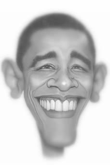 obama caricaturajp